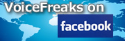 VoiceFreaks Facebookファンページ